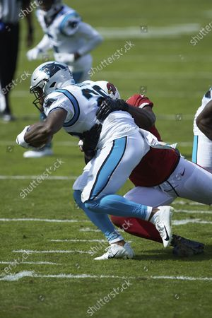 Editorial picture of Cardinals Panthers Football, Charlotte, United States - 04 Oct 2020