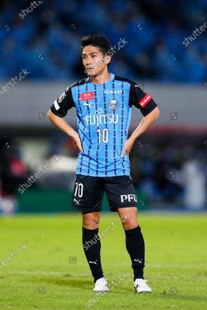 Ryota Oshima (Frontale) - Football / Soccer :  2020 J. League YBC Levain Cup  Semi-Final match  between Kawasaki Frontale 0-2 FC Tokyo  at Kawasaki Todoroki Stadium, Kanagawa, Japan.