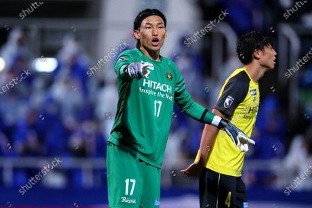 Kim Seung Gyu (Reysol) - Football / Soccer :  2020 J. League YBC Levain Cup Semi-final match  between Yokohama F.Marinos 0-1 Kashiwa Reysol at NHK Spring Mitsuzawa Football Stadium, Kanagawa,Japan.