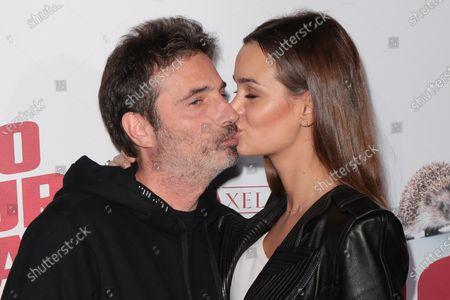 Stock Photo of Richard Orlinski and Elisa Bachir Bey
