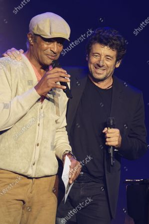 Stock Photo of Yannick Noah and Patrick Bruel