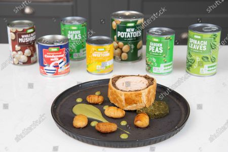 Editorial image of ASDA Tin Can Chef, Bristol, UK - 07 Oct 2020