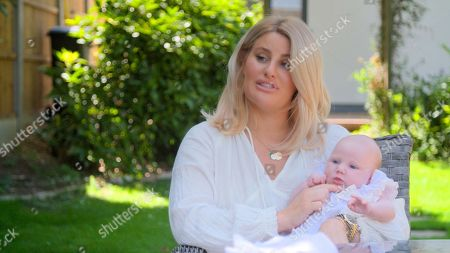 Danielle Armstrong with baby Orla Mae.