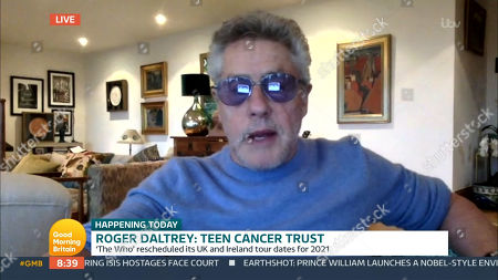 Stock Image of Roger Daltry
