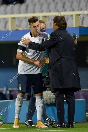 Editorial image of Soccer: UEFA Nations League 2020-2021: Italy 6-0 Moldova, Firenze, Italy - 07 Oct 2020