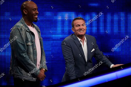 Stock Picture of Dane Baptiste and Bradley Walsh