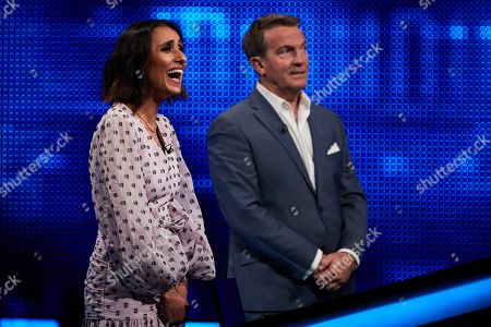 Stock Picture of Anita Rani and Bradley Walsh