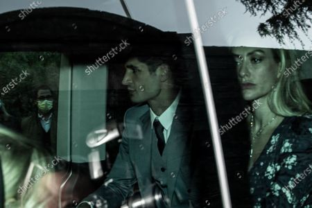 Editorial image of Arrivals at the wedding of Luigi Berlusconi with Federica Fumagalli, Milan, Italy - 07 Oct 2020