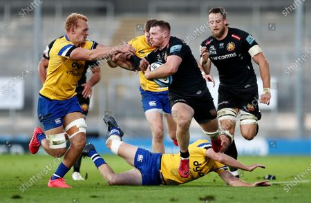 Editorial photo of Exeter Chiefs v Bath, Gallagher Premiership, Semi Final, Rugby Union, Sandy Park, Exeter, UK - 10 Oct 2020