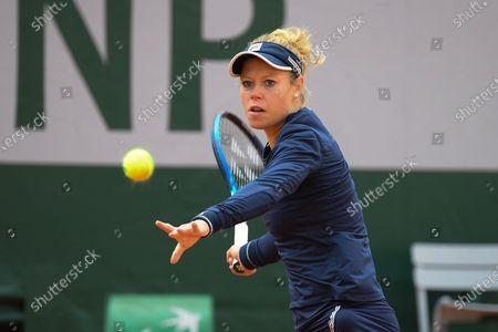 Laura Siegemund at Roland Garros stadium