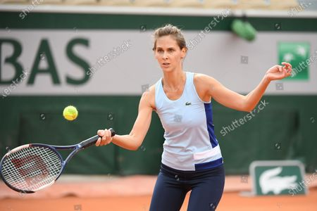 Editorial image of French Open Tennis, Day Eleven, Roland Garros, Paris, France - 07 Oct 2020