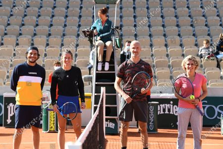 Editorial picture of French Open Tennis, Day Eleven, Roland Garros, Paris, France - 07 Oct 2020