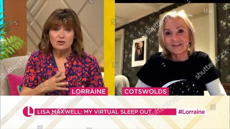 Lorraine Kelly, Lisa Maxwell