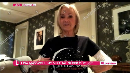 Editorial image of 'Lorraine' TV Show, London, UK - 08 Oct 2020