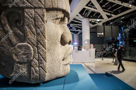 Editorial picture of Exhibit on Olmec civilization opens in Paris, France - 08 Oct 2020