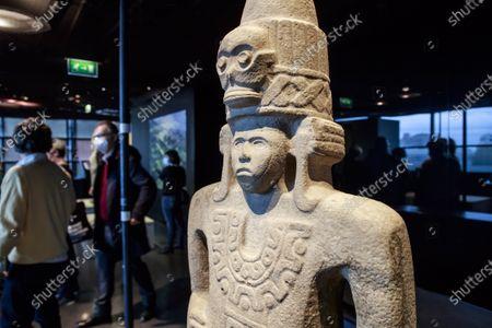 Editorial image of Exhibit on Olmec civilization opens in Paris, France - 08 Oct 2020