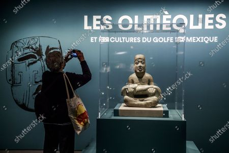 Editorial photo of Exhibit on Olmec civilization opens in Paris, France - 08 Oct 2020