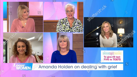 Stock Photo of Kaye Adams, Denise Welch, Nadia Sawalha, Jane Moore, Amanda Holden