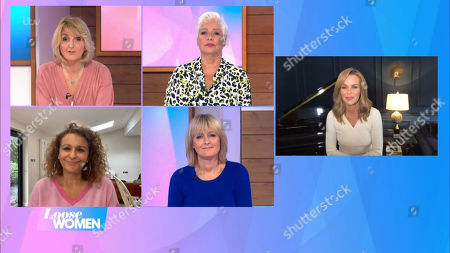Stock Picture of Kaye Adams, Denise Welch, Nadia Sawalha, Jane Moore, Amanda Holden