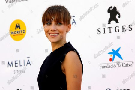 Aura Garrido poses for photographers upon arrival on the opening day of the 53rd Sitges International Fantastic Film Festival of Catalonia, in Sitges, Spain, 08 October 2020. The festival runs from 08 October to 18 October 2020.