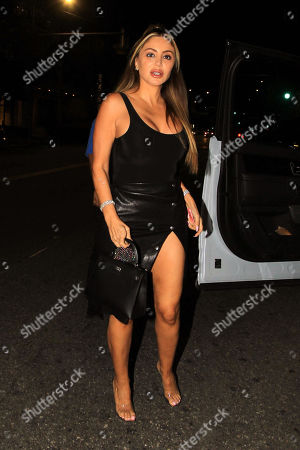 Larsa Pippen is seen on a night out