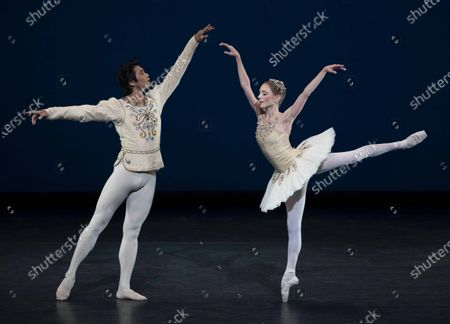 Stock Photo of The Royal Ballet; Back on Stage performed at the Royal Opera House