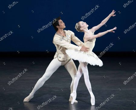 Stock Picture of The Royal Ballet; Back on Stage performed at the Royal Opera House
