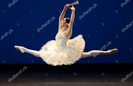 Editorial photo of 'Royal Ballet:Back on Stage'Performd by the Royal Ballet at the Royal Opera House, London, UK - 08 Oct 2020