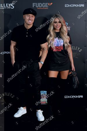 Bianca Gascoigne and Kris Boyson