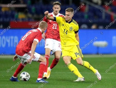Editorial photo of Russia Sweden Soccer, Moscow, Russian Federation - 08 Oct 2020