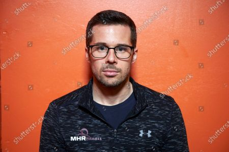 Editorial photo of James Foad former Olympic rower, Hedge End Fitness Centre, Southampton, UK - 12 Feb 2020