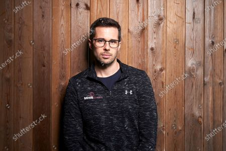 Editorial image of James Foad former Olympic rower, Hedge End Fitness Centre, Southampton, UK - 12 Feb 2020