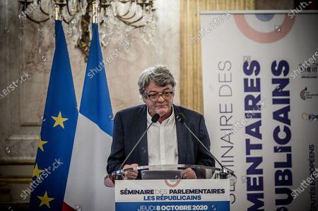 Editorial photo of Parliamentarians' seminar Les Republicains LR, Paris, France - 08 Oct 2020