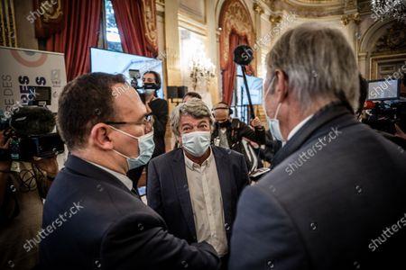 Editorial picture of Parliamentarians' seminar Les Republicains LR, Paris, France - 08 Oct 2020