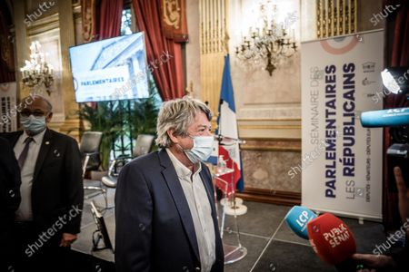 Editorial image of Parliamentarians' seminar Les Republicains LR, Paris, France - 08 Oct 2020
