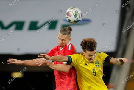 Editorial picture of Russia vs Sweden, Moscow, Russian Federation - 08 Oct 2020