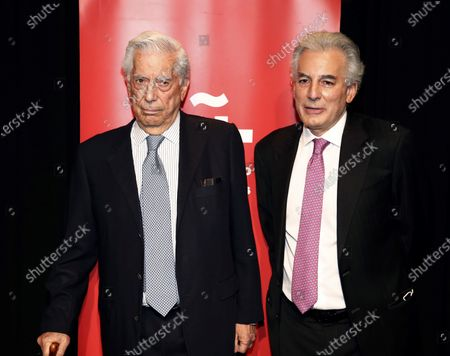 Editorial picture of Tribute to Mario Vargas Llosa on 10th anniversary of his Nobel award, Madrid, Spain - 08 Oct 2020
