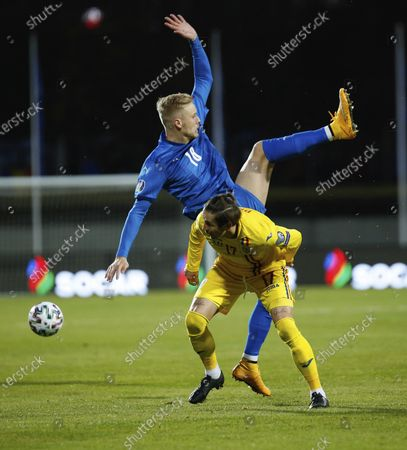 Editorial picture of Romania Euro 2020 Soccer, Reykjavik, Iceland - 08 Oct 2020