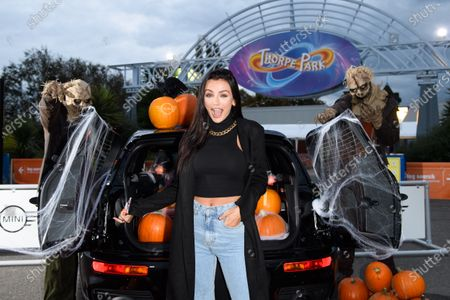 Editorial picture of Thorpe Park Fright Night, Surrey, UK - 08 Oct 2020