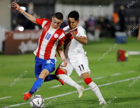 Editorial image of Paraguay vs Peru, Asuncion - 08 Oct 2020