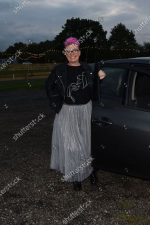 Editorial picture of The Tulleys Haunted Drive-In Cinema press night, Tulleys Farm, Crawley, UK - 08 Oct 2020