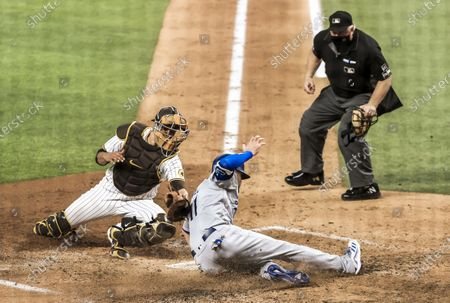 Editorial photo of San Diego Padres and Los Angeles Dodgers in the National League Division Series, Arlington, USA - 08 Oct 2020