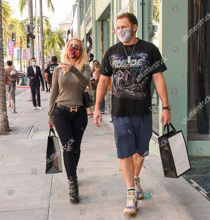 Editorial picture of Heidi Montag and Spencer Pratt out and about, Los Angeles, California, USA - 08 Oct 2020