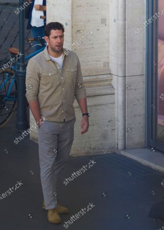 Editorial image of 'Jack Ryan' TV show filming, Rome, Italy - 08 Oct 2020
