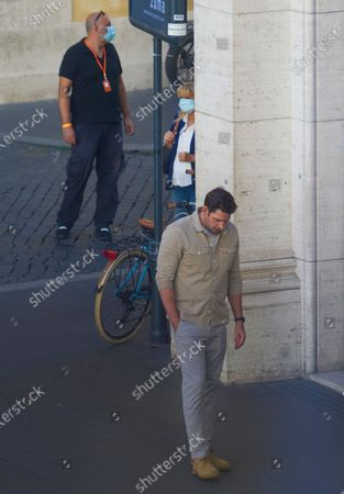 Editorial picture of 'Jack Ryan' TV show filming, Rome, Italy - 08 Oct 2020