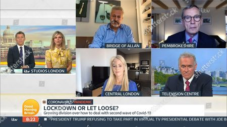 Editorial picture of 'Good Morning Britain' TV Show, London, UK - 09 Oct 2020
