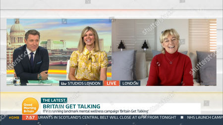 Editorial photo of 'Good Morning Britain' TV Show, London, UK - 09 Oct 2020