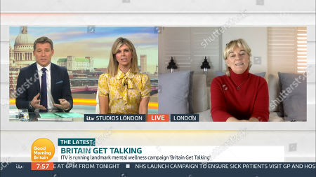 Editorial image of 'Good Morning Britain' TV Show, London, UK - 09 Oct 2020