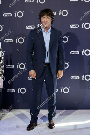 Spanish chef Jordi Cruz presents iO by Oral-B at the Kitchen club in Madrid.