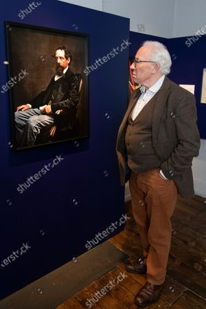 Actor Simon Callow, Patron of the Charles Dickens Museum, visits the Museum's new exhibition 'Technicolour Dickens' , which features a new suite  of colourised  photographic portraits of Dickens, bringing visitors closer than ever to the real Dickens. The Charles Dickens Museum is at 48 Doughty Street, Holborn, the only surviving London house in which Dickens lived. When Dickens and his young family moved into Doughty Street he was a little-known writer. By the time he moved out, he was international famous, having written The Pickwick Papers, Oliver Twist and Nicholas Nickleby there